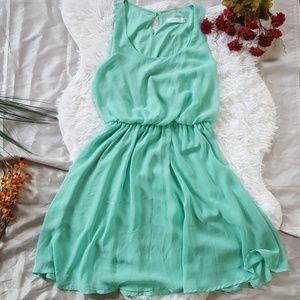 Lush | Mint Green Causal Dress Size Small